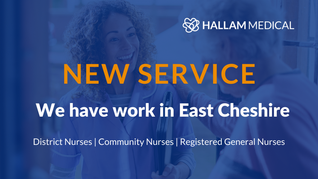 New service - We have work in East Cheshire